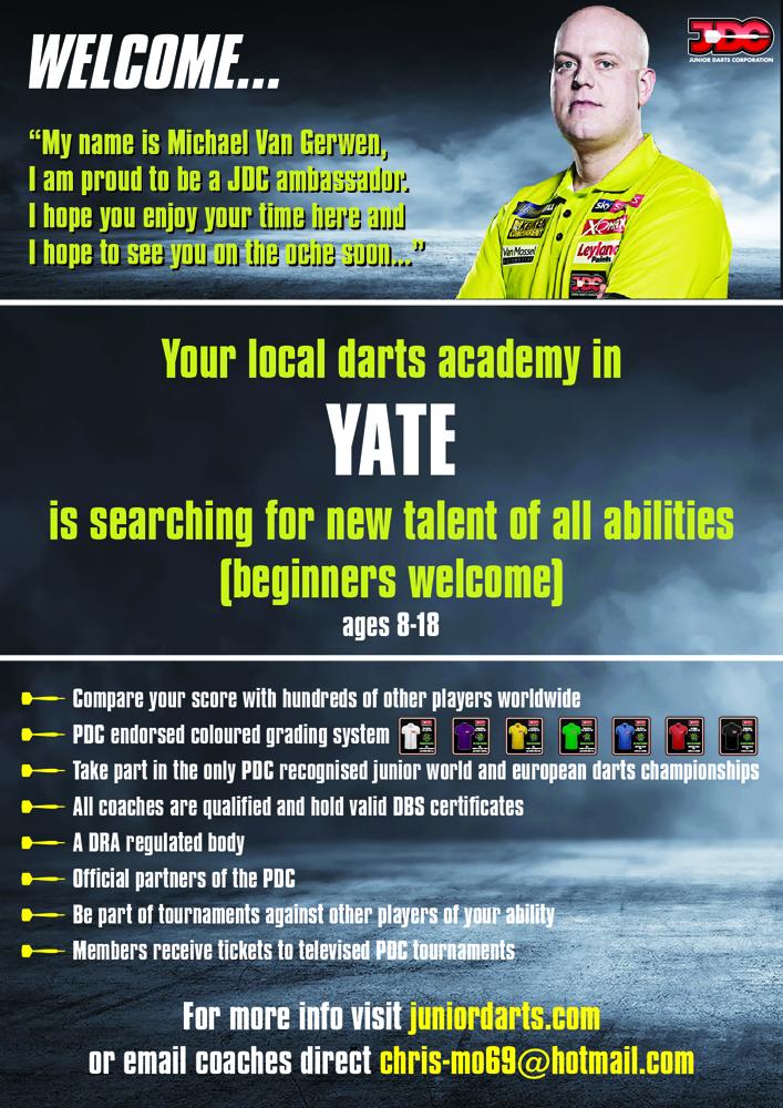 JDC - Junior Darts Corporation
